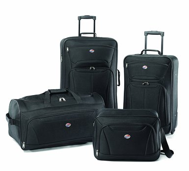 American Tourister Fieldbrook II 4 Piece Luggage Set