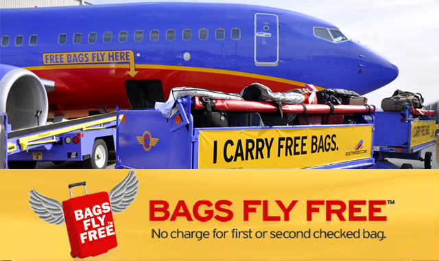 Bags Fly Free On Southwest Airlines Fan Of Fashion Handbags And Luggage