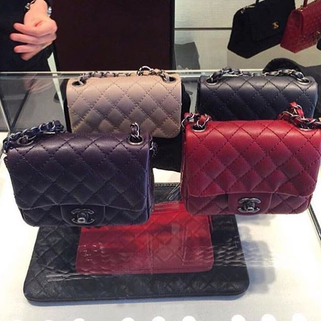 The Colors Of Chanel Mini Classic Flap Bag For This Season