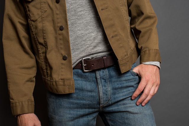 a man should know what genuine leather actually is before buying a belt