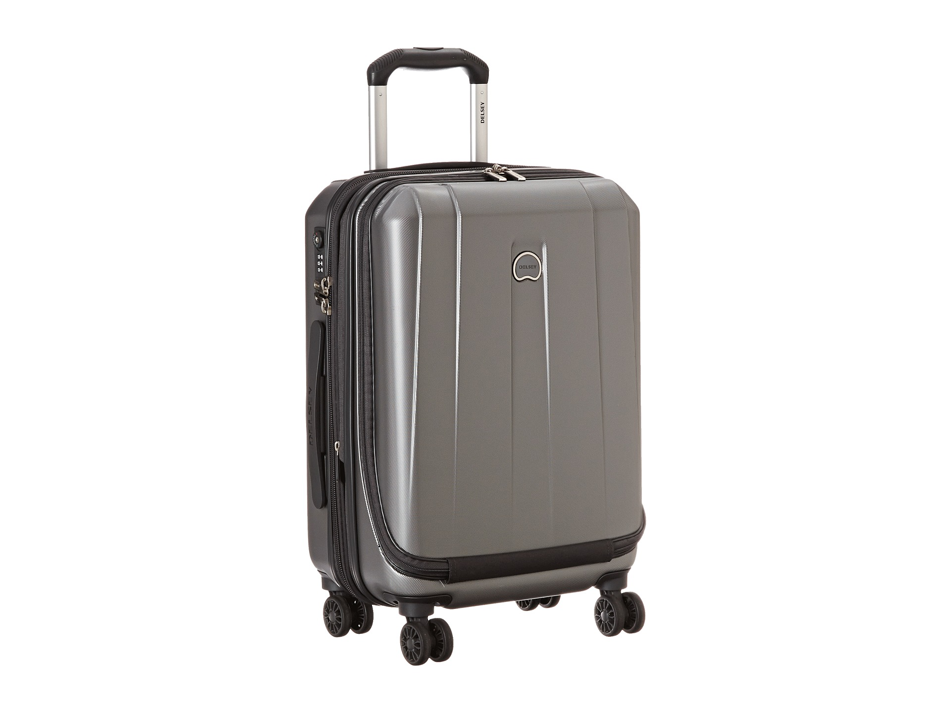 "Delsey Helium Shadow 3.0 21"" Carry-On Expandable Spinner Suiter Trolley"
