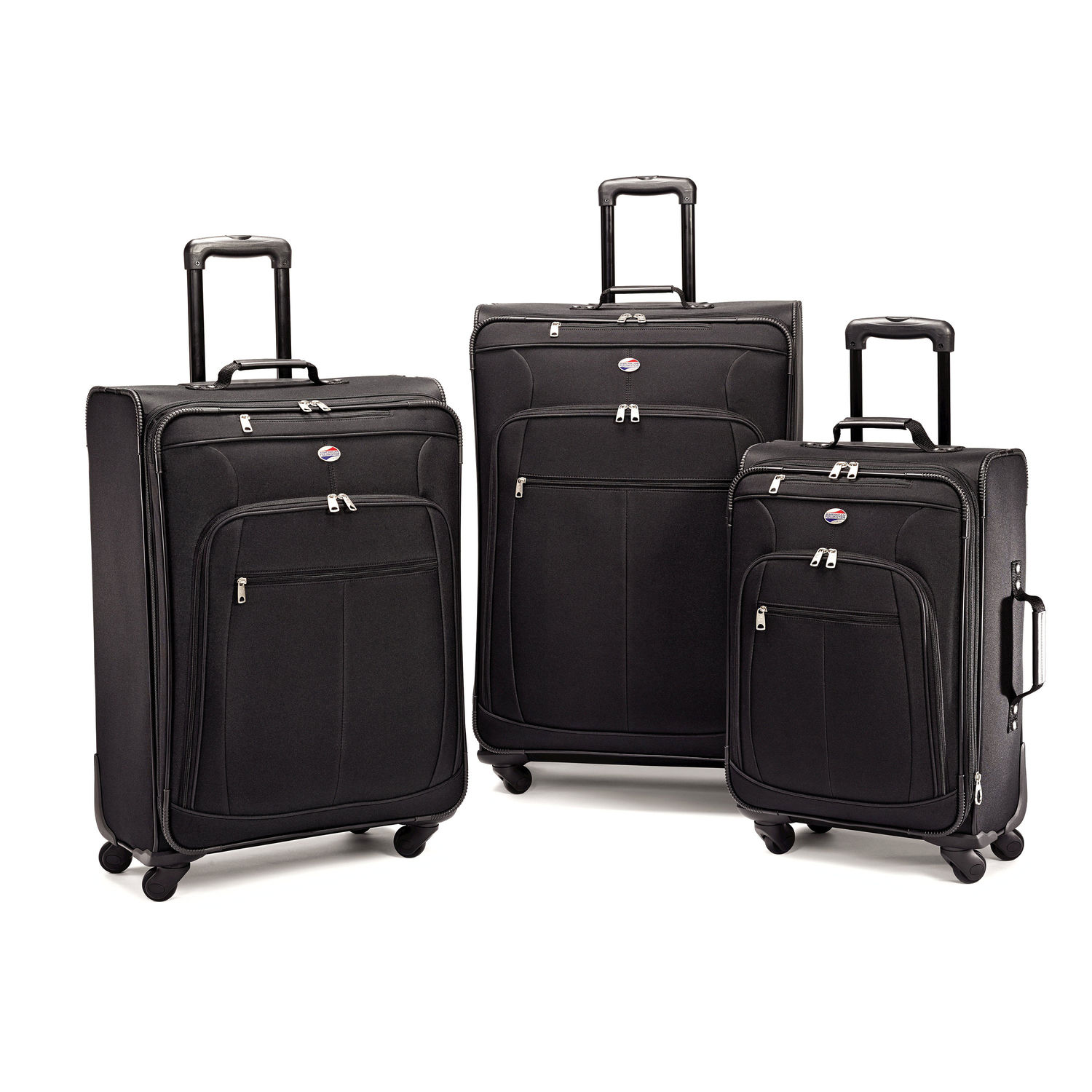 Reviewing American Tourister POP Plus 3 Piece Spinner Set