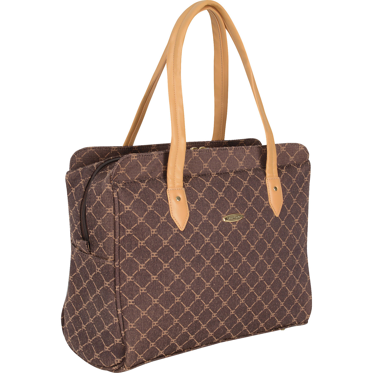 "Pierre Cardin Signature 16"" Traditional Tote"