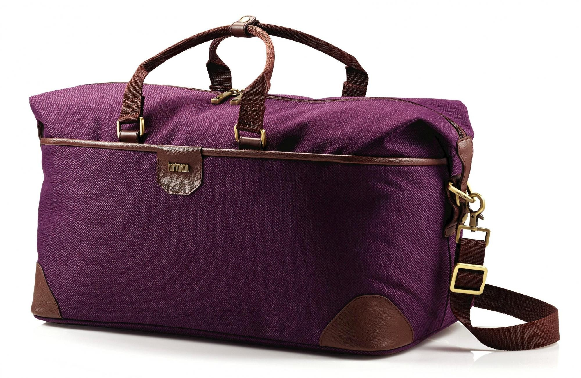 Hartmann Herringbone Luxe Softside Weekend Duffel