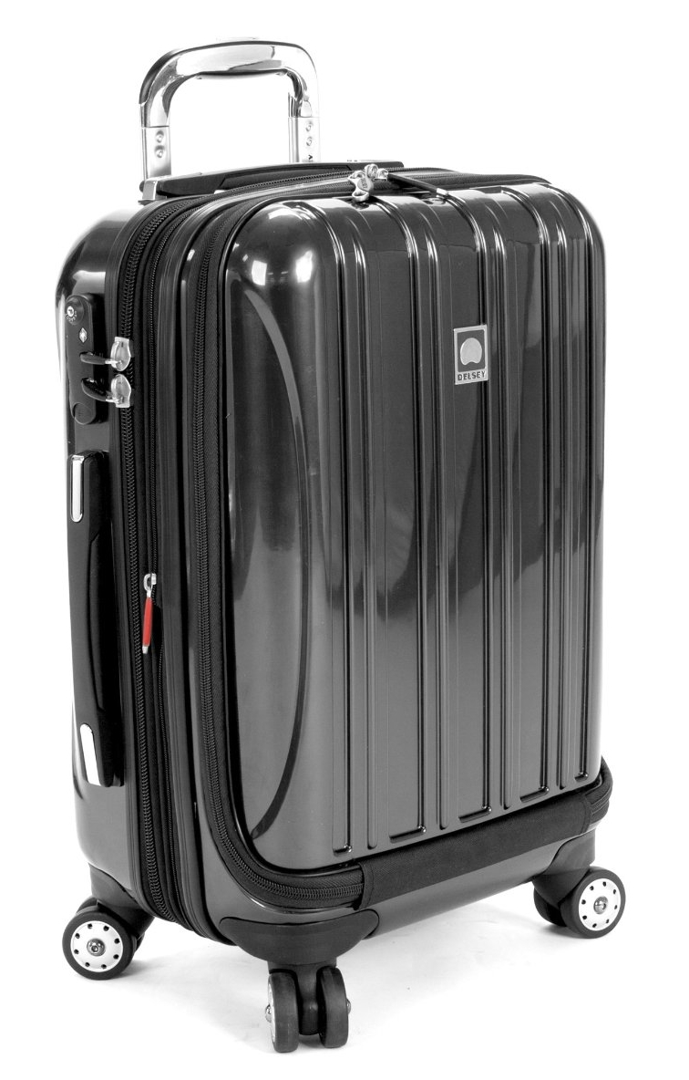Delsey Helium Aero International Carry-On Expandable Spinner Trolley