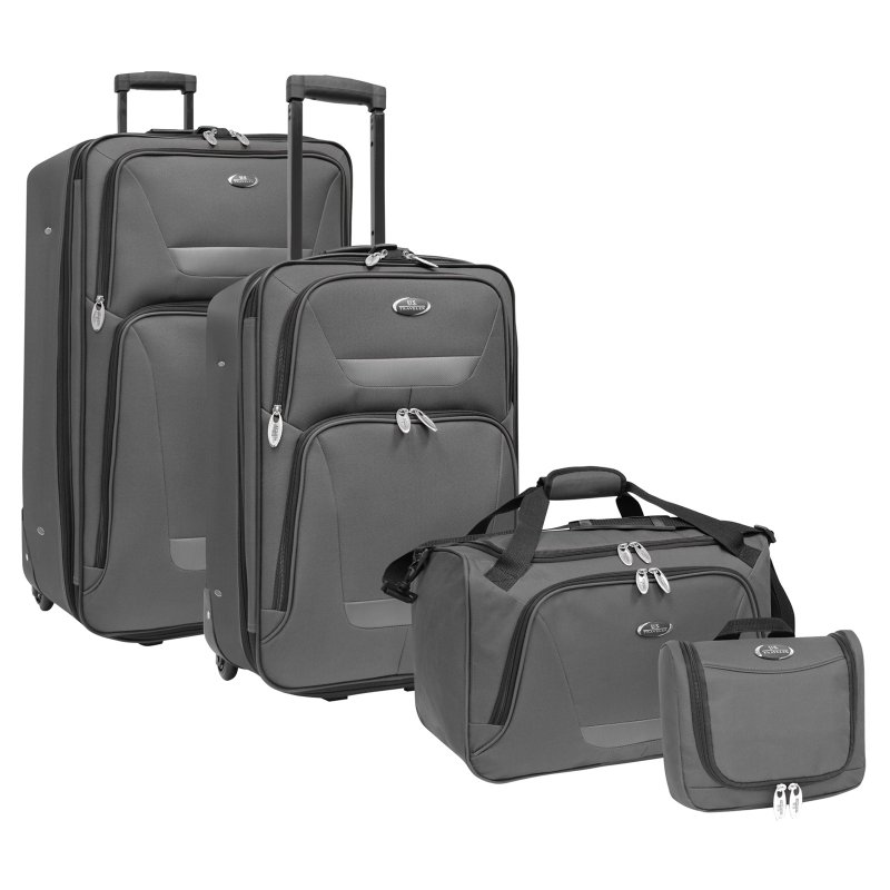 U.S. Traveler Techno Casual Wheeled Computer Briefcase