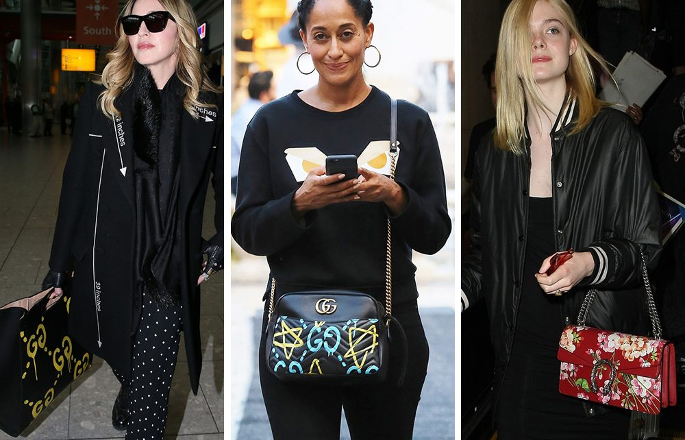 celebrity gucci bags