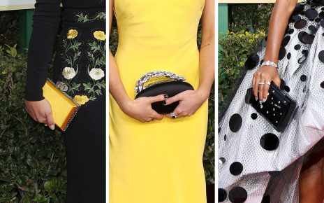 Best Red Carpet Bags from the 2017 Golden Globe Awards