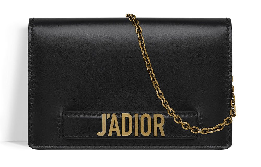 The Dior J'Adior Wallet on Chain