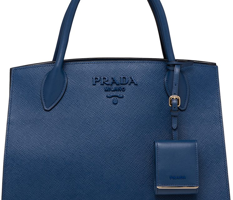 3239108bd9a213 Prada Monochrome Tote Bag - Big Fan of Fashion Handbags and Luggage